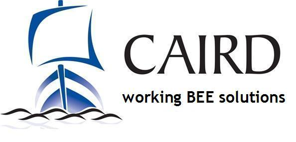Caird logo - no contact details with byline3 (May 08)