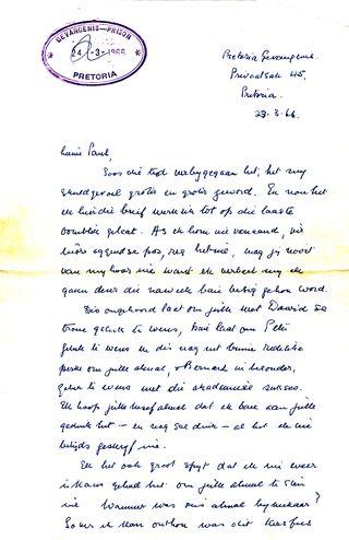 Bram Fischer letter to PE Janisch 26_3_1966 (1)