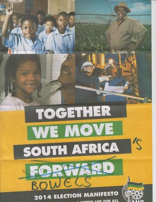ANC Election Manifesto